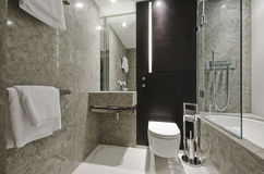 Banheiro de mármore Imagem de Stock