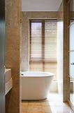 Banheiro de mármore Imagens de Stock