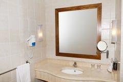 Banheiro de mármore Fotografia de Stock Royalty Free