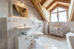 Banheiro de um plano imagens de stock royalty free