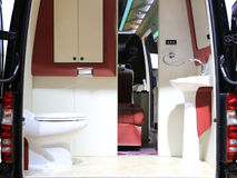 Banheiro do carro fotos de stock
