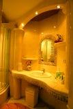 Banheiro do desenhador foto de stock