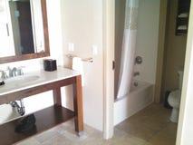 Banheiro do hotel fotografia de stock royalty free