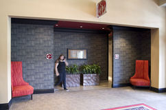 Banheiro do hotel Fotos de Stock Royalty Free