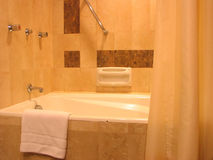Banheiro do hotel Foto de Stock