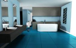 Banheiro do projeto interior Imagem de Stock Royalty Free