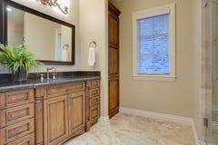 Banheiro elegante Imagem de Stock Royalty Free