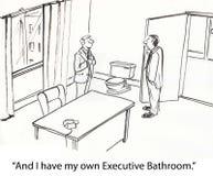 Banheiro executivo Fotos de Stock