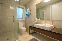 Banheiro home luxuoso Foto de Stock