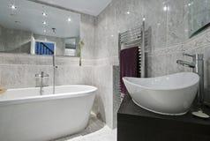 Banheiro luxuoso Imagem de Stock Royalty Free