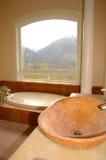 Banheiro luxuoso Foto de Stock Royalty Free
