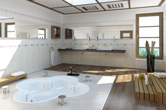 Banheiro luxuoso Imagens de Stock