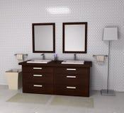 Banheiro luxuoso da família Imagem de Stock Royalty Free