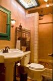 Banheiro luxuoso do recurso fotos de stock royalty free