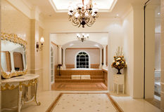 Banheiro mestre luxuoso Imagens de Stock Royalty Free