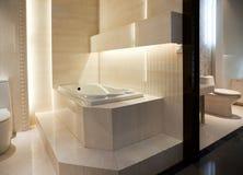Banheiro mestre luxuoso Imagem de Stock Royalty Free