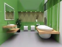 Banheiro moderno Foto de Stock