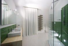 Banheiro moderno imagens de stock