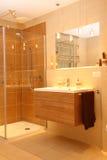 Banheiro moderno. Imagem de Stock