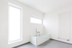 Banheiro moderno fotografia de stock