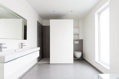 Banheiro moderno Imagens de Stock Royalty Free