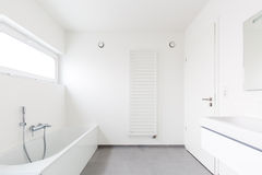 Banheiro moderno Imagem de Stock