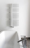 Banheiro moderno com banho Imagens de Stock