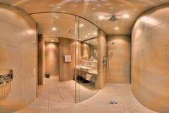 Banheiro moderno elegante Fotos de Stock Royalty Free