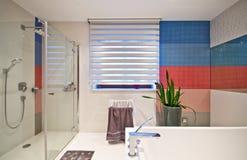 Banheiro moderno elegante fotografia de stock