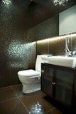 Banheiro moderno para convidados Fotos de Stock Royalty Free