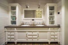Banheiro no banheiro clássico de style fotos de stock