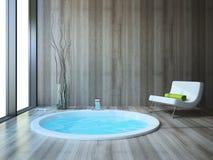 Banheiro no estilo moderno ilustração do vetor