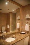 Banheiro no mármore Foto de Stock