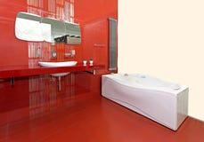 Banheiro novo Imagem de Stock Royalty Free