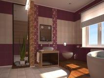Banheiro oriental Foto de Stock Royalty Free