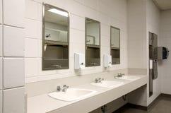 Banheiro público austero Imagem de Stock Royalty Free