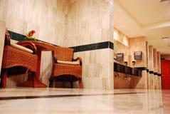 Banheiro público luxuoso Foto de Stock