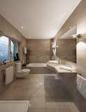 Banheiro, projeto clássico fotografia de stock royalty free