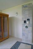 Banheiro Semi ao ar livre do recurso Imagens de Stock