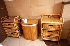 Banheiro simples Fotos de Stock Royalty Free