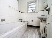 Banheiro sujo fotografia de stock