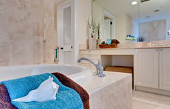 Banheiro tropical Fotos de Stock Royalty Free