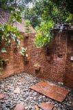 Banheiros com chuveiro na casa de hóspedes do santuário de Khao Sok, Tailândia Fotografia de Stock Royalty Free