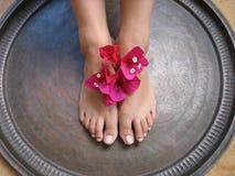 Banho 1a do pé Fotos de Stock