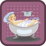 Banho Imagem de Stock