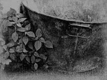 Banho abandonado da lata imagem de stock royalty free