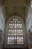 Banho Abbey Vaulting no banho, Somerset, Inglaterra Fotografia de Stock Royalty Free