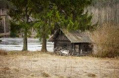 Banho-casa Foto de Stock