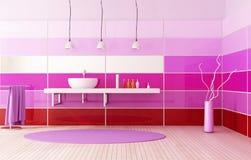 Banho colorido brilhante ilustração stock