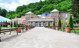 Banho da caverna de Miskolc-Tapolca em Hungria Imagem de Stock